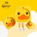 FACE B.Duck Kid Tableware Set C (5 in 1)