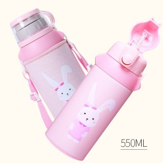 FACE Classic Kid Cute Cartoon 304/316 Stainless Steel Insulated Bottle